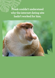 Frank couldn�t understand why the internet dating site hadn�t worked for him.